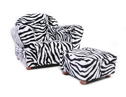 Childrens Ottoman by Amazon Com Keet Roundy Kid U0027s Chair With Ottoman Leopard Baby