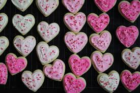 frosted sugar cookie hearts a valentine u0027s day giveaway