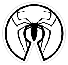 arachnid clipart spiderman logo pencil color arachnid