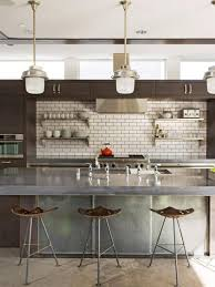 Backsplash Kitchen Designs by 10 Creative Ways To Decorate With Brown Hgtv