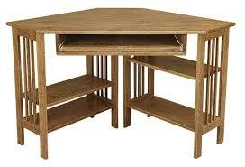 Wooden Computer Desk Plans Great Nice Corner Computer Desk Furniture Amish Office Furniture