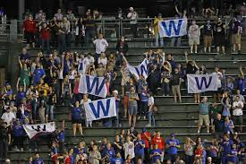 Chicago Cubs Flags Chicago Sports Reporter Tricks People To Fly The Cubs W Flag
