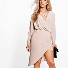 60 boohoo dresses skirts wrap front dress straps across