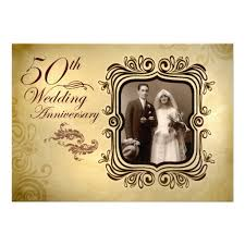50th wedding anniversary fancy 50th wedding anniversary invitation superdazzle custom