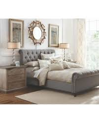 snag this holiday sale 25 off gordon grey queen sleigh bed grey