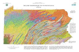 map of pa geology education