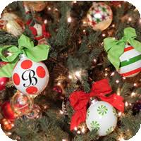 flat metal whimsy ornaments