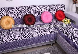 New Design Zebra Print Fabricupholstery Fabric For Sofa Cover Lqx - Sofa cover design