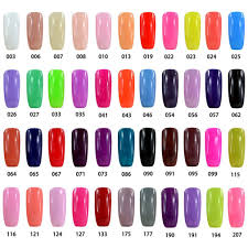 elite99 gelpolish pick any 8 colors soak off gel nail polish bast