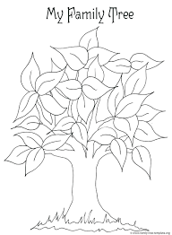 family tree template for