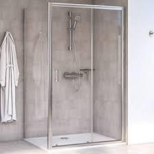 800 Shower Door Aqualux Edge 6 Rectangular Shower Enclosure Lh Rh Polished Silver