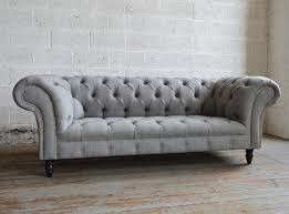 Chesterfield Sofa Luxury Grey Chesterfield Sofa 12 On Table And Chair Inspiration