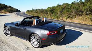 fiat spider 2016 2017 fiat 124 spider review italy gives miata an attitude
