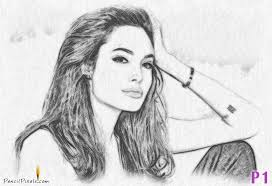 turn any image into a pencil drawing or pencil sketch in photoshop