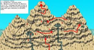 Real Treasure Maps Phantasy Star Cave Phantasy Star Generation 2 Uzo Island