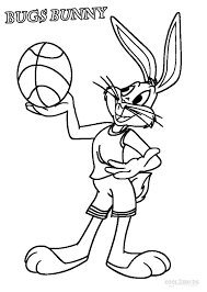 printable bugs bunny coloring pages kids cool2bkids