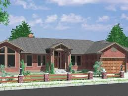 Hillside Home Plans 52 House With Basement Architectural Design Of A 2 Storey House
