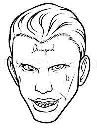 Learn How to Draw Suicide Squad Joker Easy Dc Comics Comics FREE
