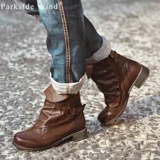 quality s boots parkside wind polished s boots brand pleated shoes