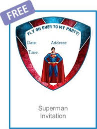 25 superman invitations ideas superman