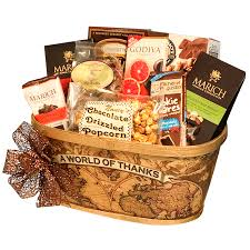 thank you gift baskets chocolate thank you gift basket treats
