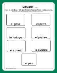 colors spanish worksheet spanish worksheets for children
