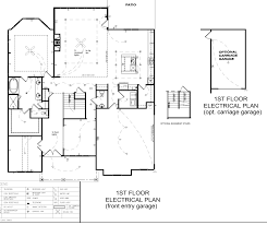 electrical plan floor plans talon neighborhoods