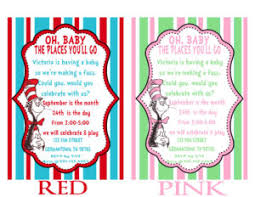 dr seuss baby shower invitations dr seuss baby shower invitations