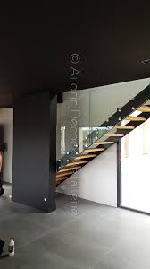 escalier design bois metal métallerie serrurerie lyon garde corps escalier métallique