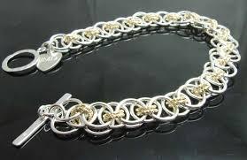 make silver bracelet images Sterling silver bracelet copper gold niobium handmade jewellery jpg
