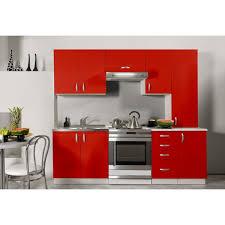 cuisines en solde cuisine équipée de 2m20 oxane moderne design en coloris laqué