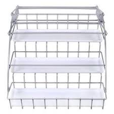 Linus Spice Rack Interdesign Linus Spice Rack Organizer For Kitchen Pantry Cabinet
