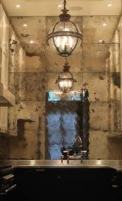 Mirror Backsplash Tiles by Best 20 Antique Mirror Glass Ideas On Pinterest Antiqued Mirror