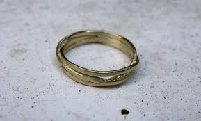 thin gold wedding band gold wedding band solid gold ring s wedding ring thin gold