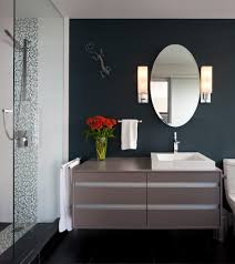 extraordinary navy blue bathroom ideas with hamper accents