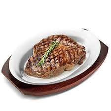 sizzle platter sizzling platter steak plate set 12 oval aluminum
