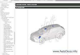 lexus rx200t rx350 repair manual pdf