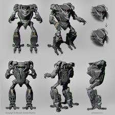martin punchev robot sketches
