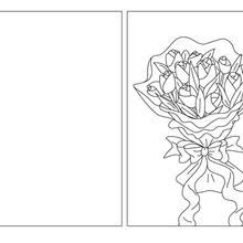 s day cards to color 15 coloring pages to print fold