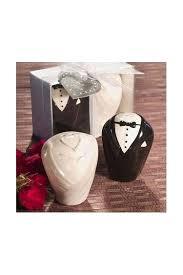 wedding salt and pepper shakers allens bridal ceramic and groom salt pepper shakers