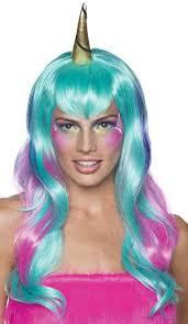 amazon com rubie u0027s costume co women u0027s unicorn fairy wig green