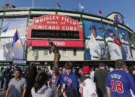 optimism rings at wrigley despite loss in opener the new york times