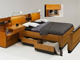 Storage Bed With Headboard Modern Headboard With Storage Simple Home Architecture Design