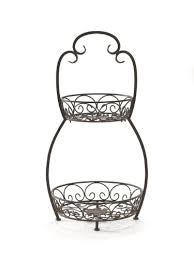 tiered serving stand caffco international biltmore inspirations collection courtyard 2