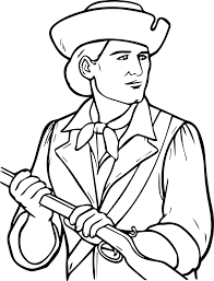 usa printables the minutemen coloring pages america revolution