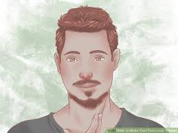 men hair style to make face tinner 5 ways to make your face look thinner wikihow