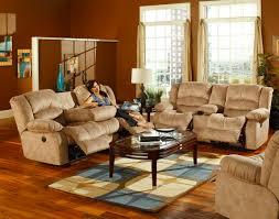 catnapper summit dual reclining sofa with burl drop down table cn