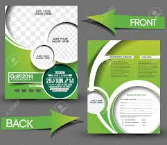 marketing brochure templates set 1