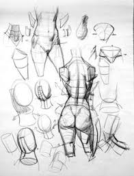 life drawing and anatomy studies by christian nacorda body