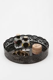 Urban Outfitters Vanity Round Crystal Vanity Tray Home Vanity Decoration